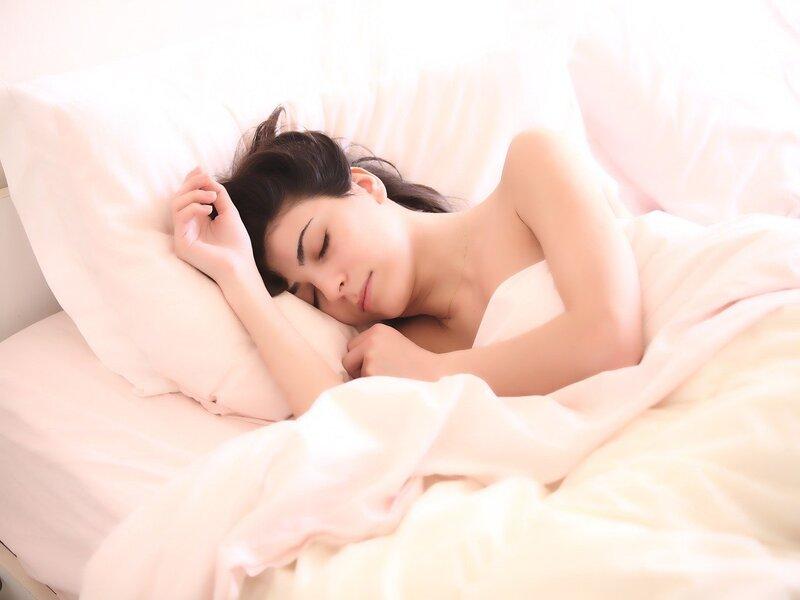Una Ragazza Che Dorme Serena