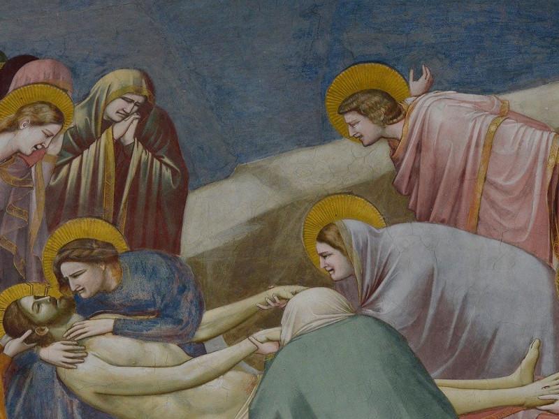 Padova Cappella Degli Scrovegni Compianto Sul Cristo Morto