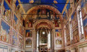 Padova Cappella Degli Scrovegni Di Giotto