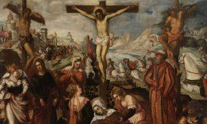 Padova Musei Civici Tintoretto Crocifissione (particolare)