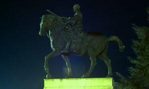Padova Statua Del Gattamelata Di Donatello Foto Ottavio Pinarello