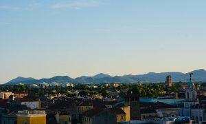 Panorama Di Padova Con I Colli Euganei (foto Stefano Segato)