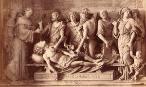 Tullio Lombardo Miracolo Del Cuore Dell'avaro Padova Basilica Del Santo Capella Dell'arca (foto Fiorentini)