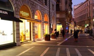 Padova Accesso A Via San Fermo Da Piazza Garibaldi