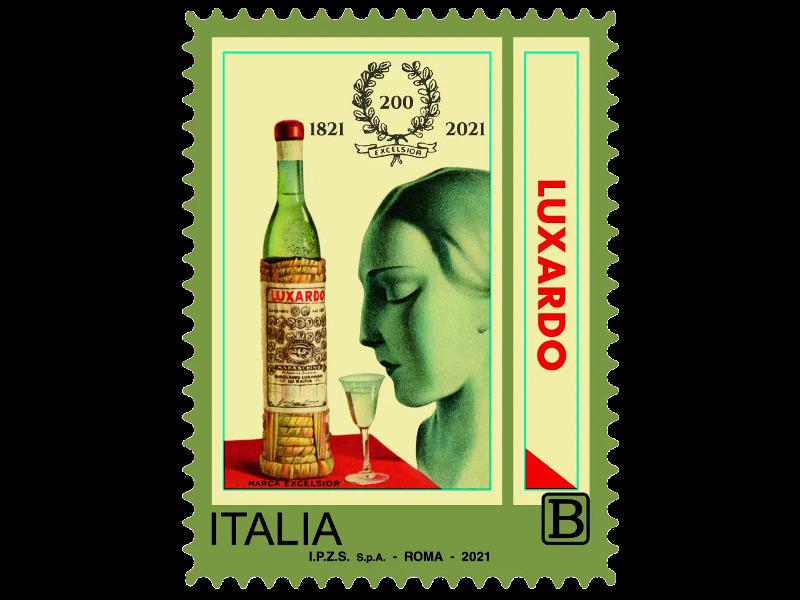 Luxardo Francobollo Bicentenario Distilleria