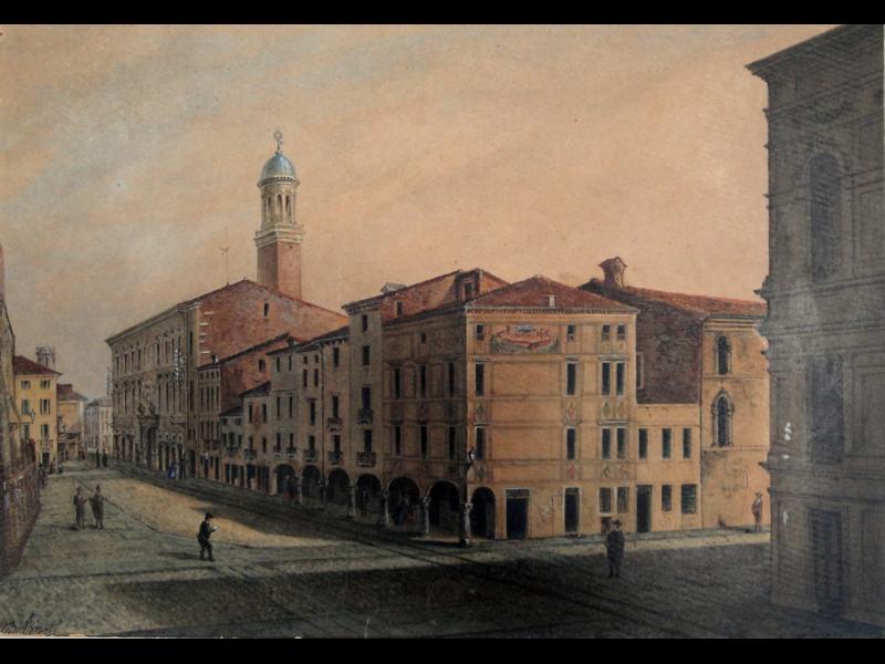bartolomeo Belzoni Via Del Gallo Nel 1884 87 Acquarello 36x25 Cm Biblioteca Civica Padova.png