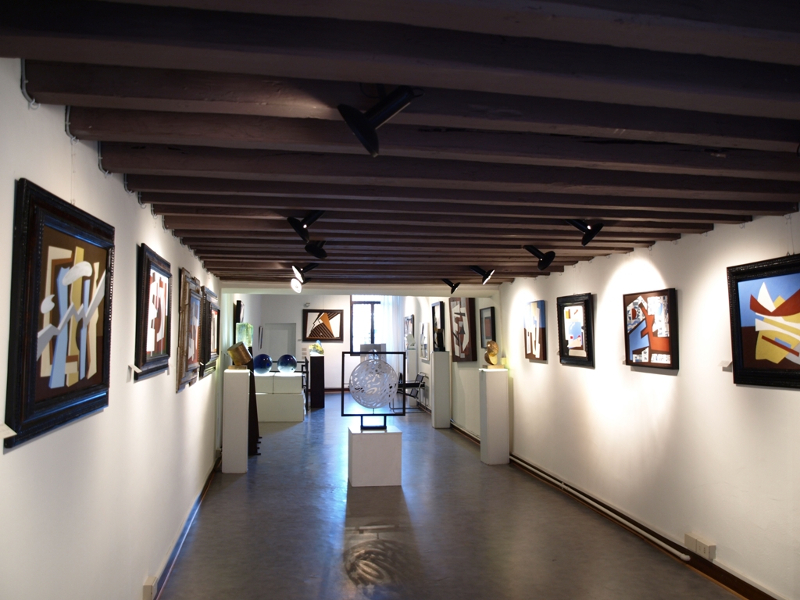 Galleria La Teca, spazio espositivo
