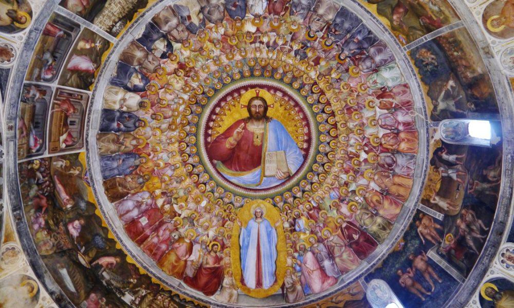 padova, Cupola Del Battistero, Cristo Pantocratore (foto Zairon).jpg