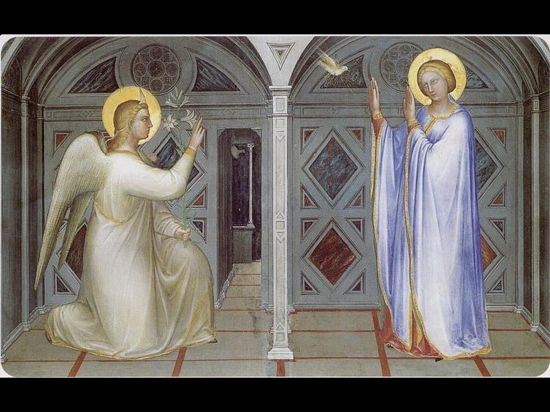 Annunciazione Nel Battistero Della Cattedrale