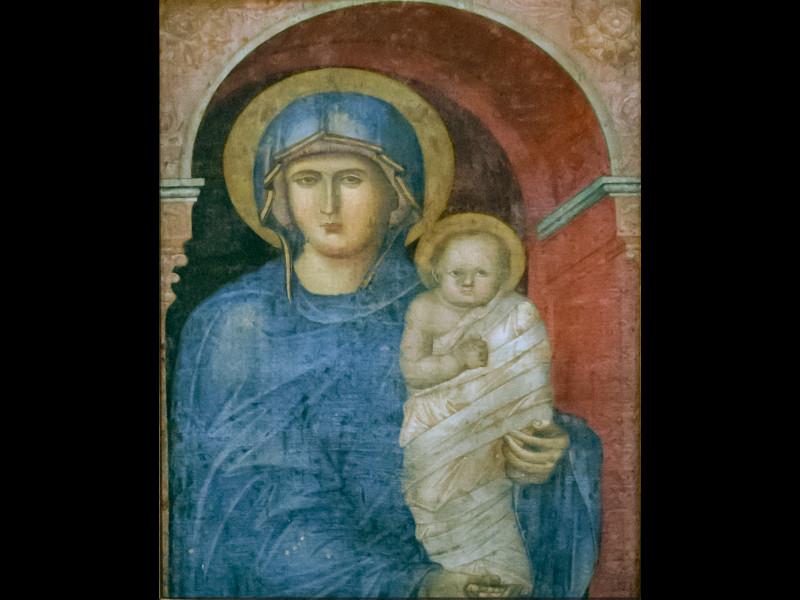 La Madonna Con Bambino Ritenuta Per Molto Tempo Di Mano Di Giotto