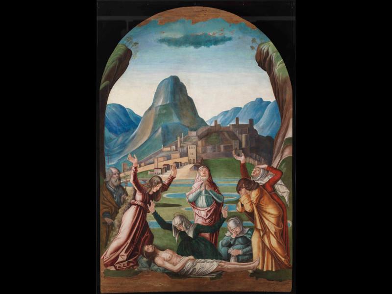 Andrea Da Murano Compianto Sul Cristo Morto