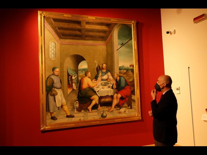 Jacopo Da Ponte Cena In Emmaus