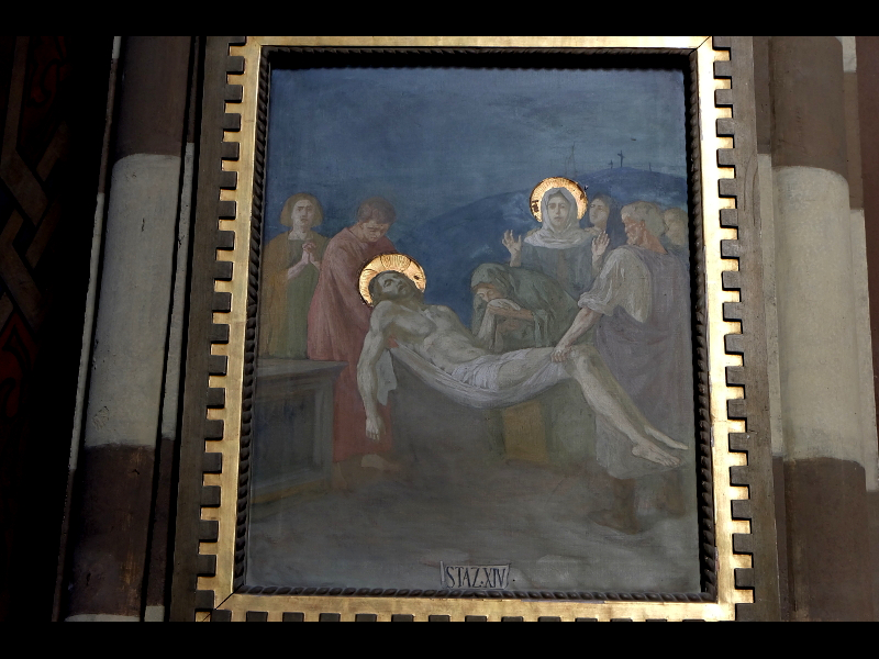 giovanni Vianello Stazione 14 Della Via Crucis