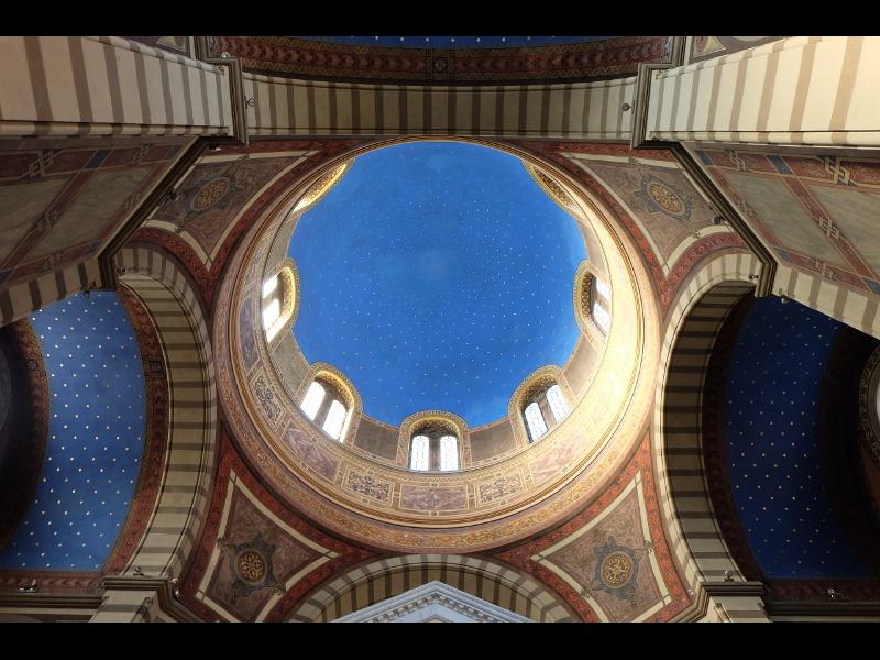 Il Soffitto Dipinto Da Giuseppe Damiani