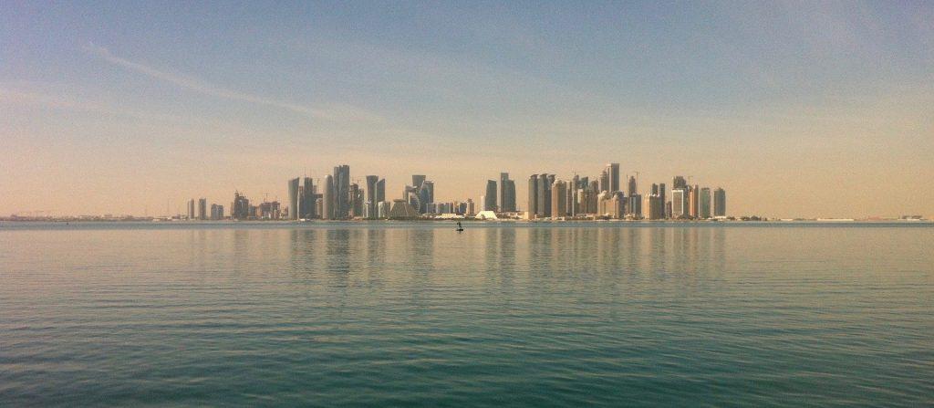 Italiani in Qatar - Veduta Di Doha