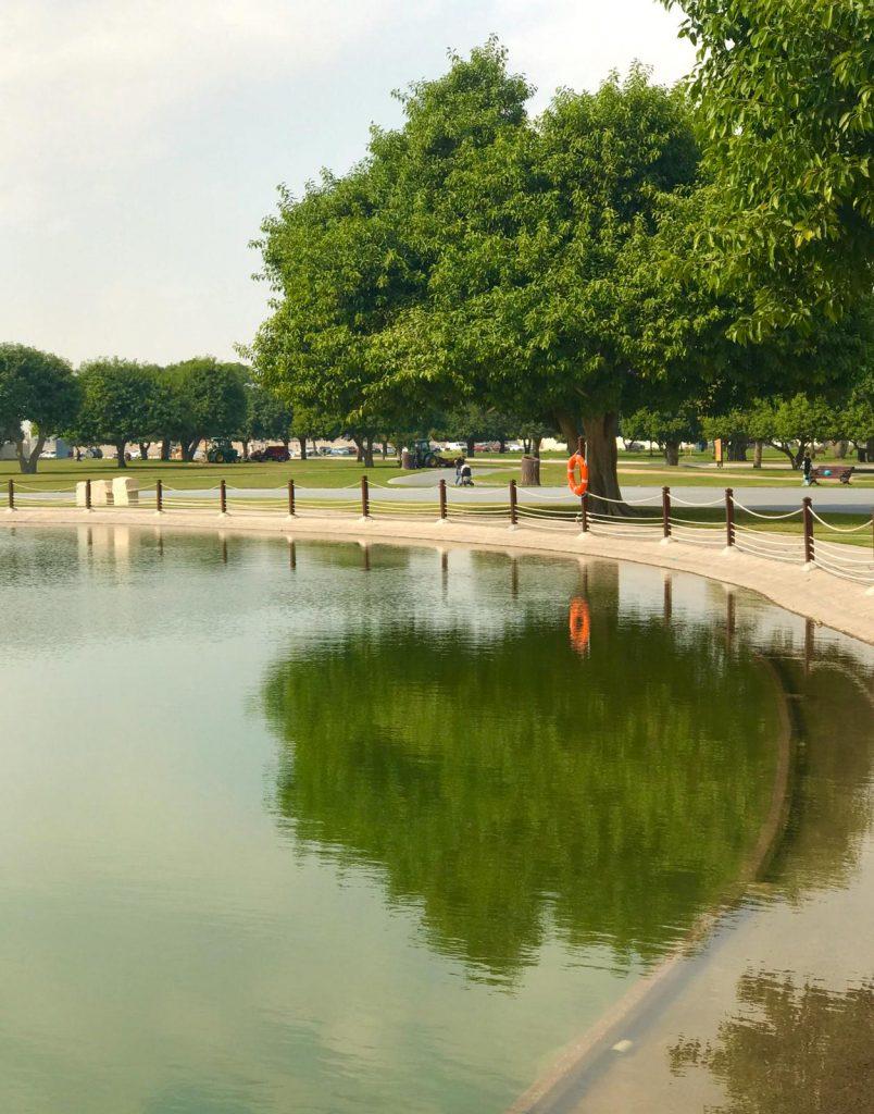 I parchi più belli - Aspire Park, laghetto artificiale