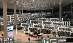 Interni della Qatar National Library