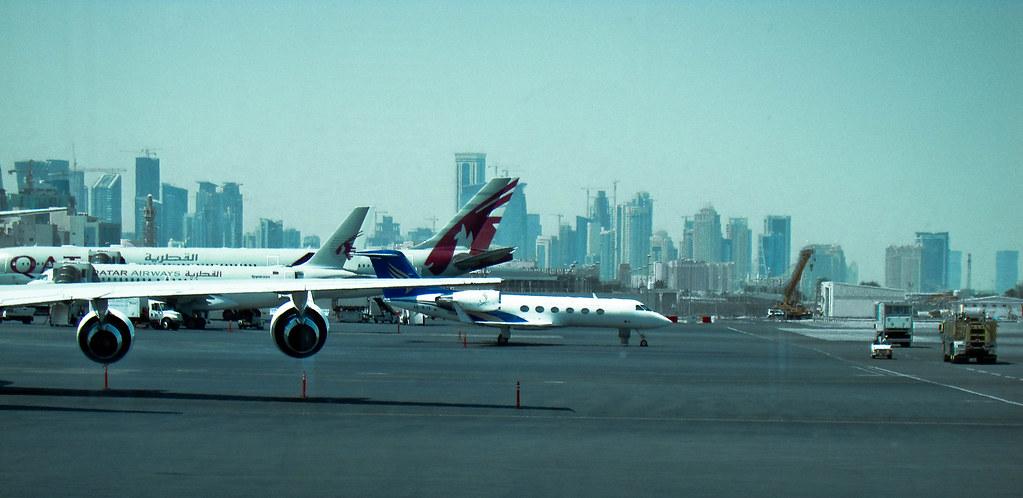 Lavorare in Qatar, aeroporto di Doha