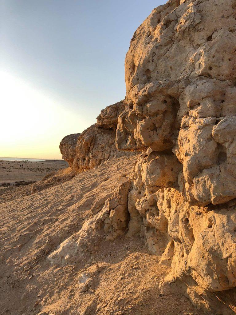 Purple Island, formazione rocciosa