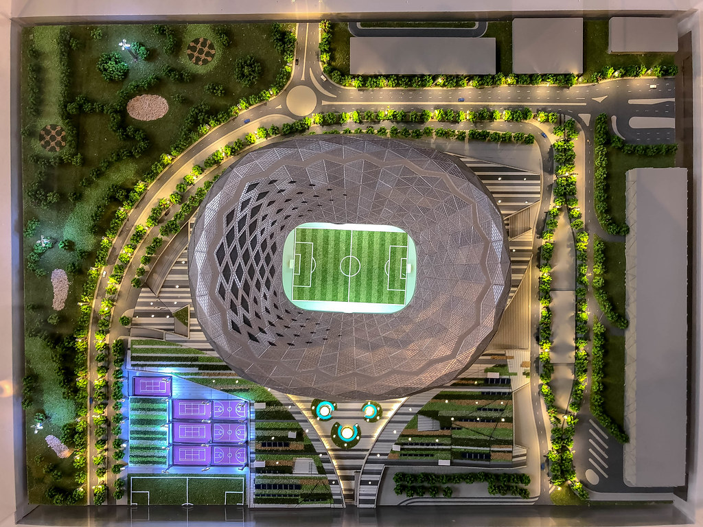 Education City Stadium Model