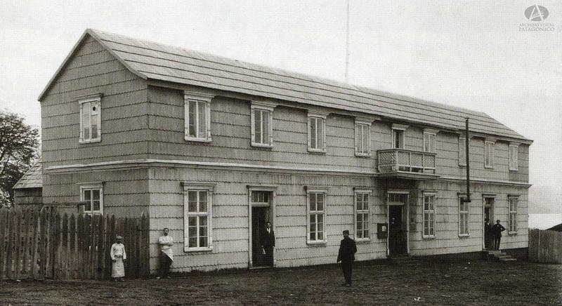 Archivo Visual Patagonico - Sucursal Casa De Comercio Chile Argentina Ex Ramos Generales De Carlos Wiederhold 1910 Bmé Mitre Y Quaglia