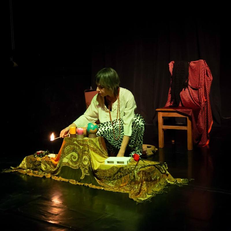 Rosalba Gravina - Teatro Mudanzas ritual