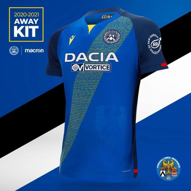 Udinese - Away Kit
