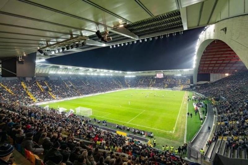 Udine - Stadio Friuli Dacia