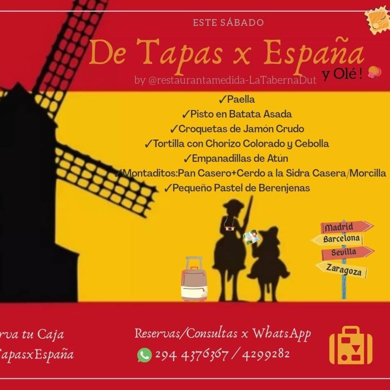 Menu Viajar Con Sabores Espana