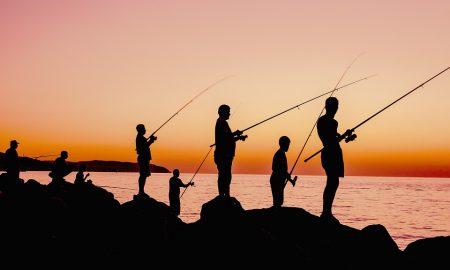 Pesca - pescando en atardecerjpg