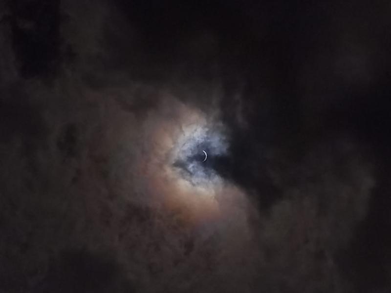 Fenómeno - Eclipse solar