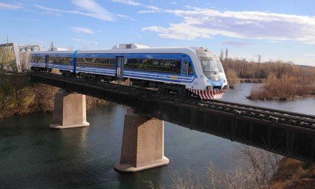 Tren - Cruzando el Río Neuquén