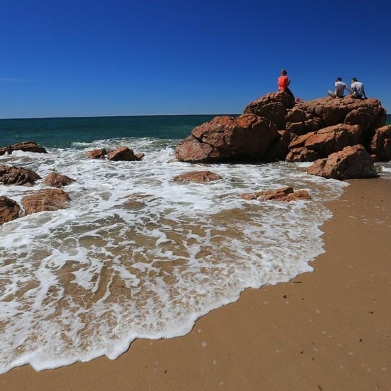 Playa Coloradas - Piedras