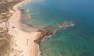 Playas coloradas - Vista aérea