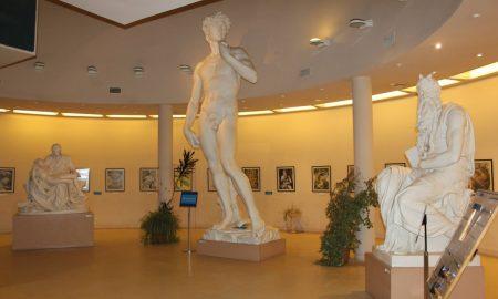 Galería del Arte - Esculturas replicas