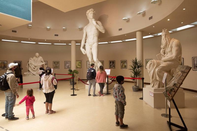 Galería del Arte - Esculturas