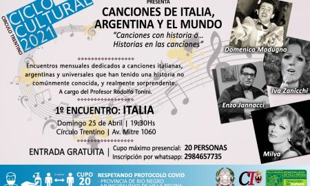 Circulo Trentino - Ciclo canzoni trentino vr