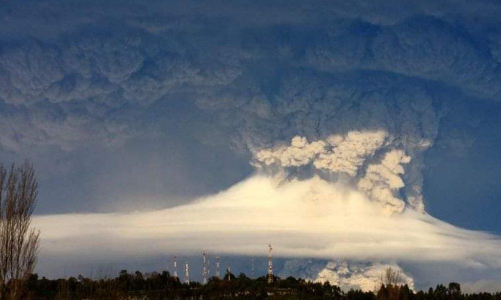 cenizas - Erupción