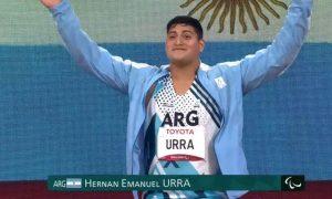 Hernán Urra - Juegos Paralímpicos