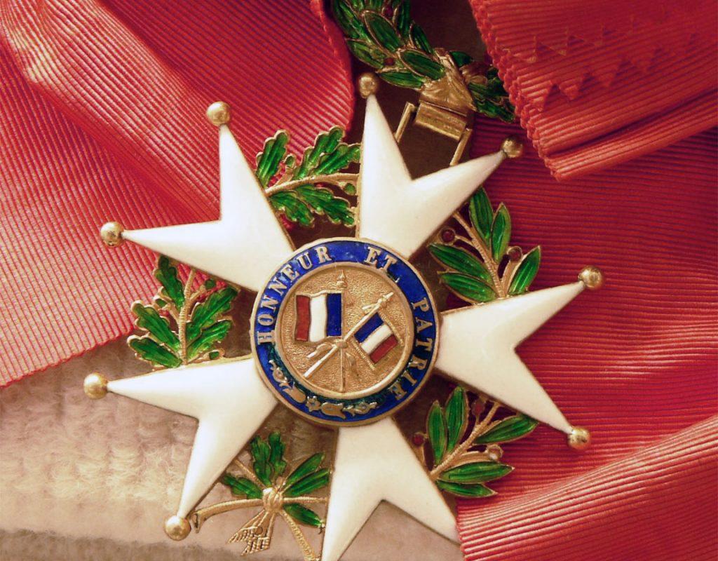 Legion D Onore Medaglia Francese pasquale galluppi