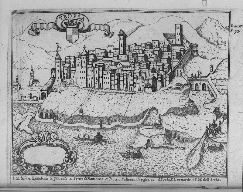 storia Tropea Borbonica