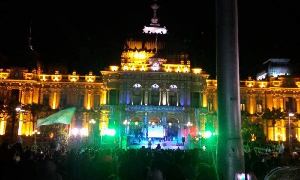 Casa De Gobierno De Tucuman - Festejos Del Bicentenario
