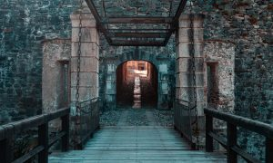 Escudo familiar - Fenestrelle's Fort Entry, Italy