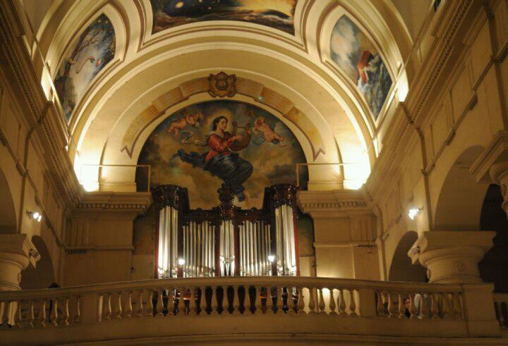 El órgano Locatelli - Coro