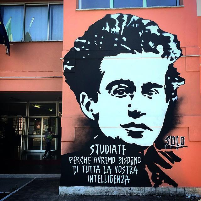 Gramsci - Mural