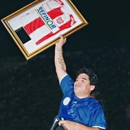 Maradona Camiseta San Martin