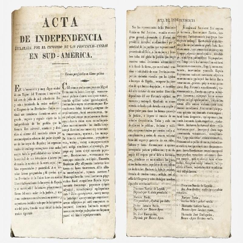 Jose Ignacio Thames - Acta Independencia