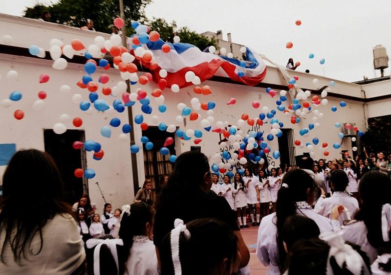 Escuela - Globos