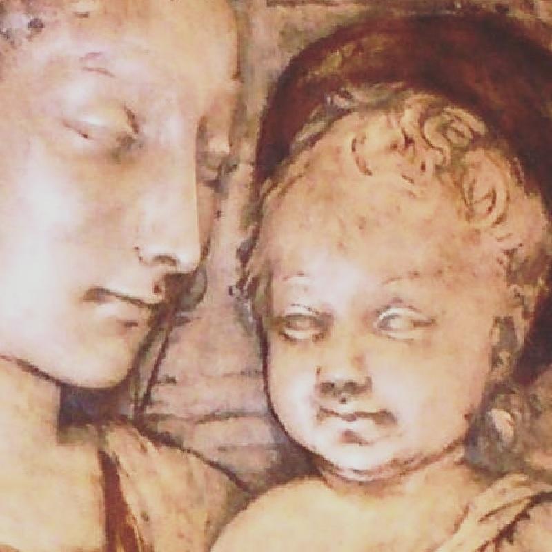 Arte Sacro - Obra Virgen María Y El Niño