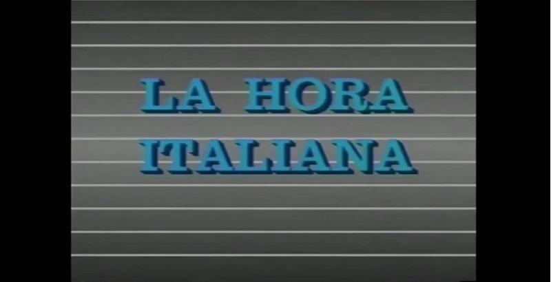 Martino- La Hora Italiana